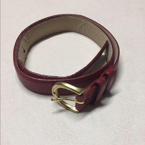 Vintage Coach Leather Belt S
